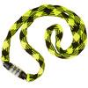 RFR Junior Zahlenkettenschloss neon gelb/schwarz